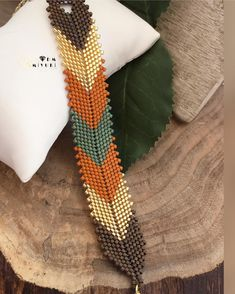 En sevdiğim renk uyumlarından diyebilirim 🍁🌾🌱 ✩ ✩ ✩ ✩ ✩ ✩ ✩ ✩ ✩ ✩ ✩ ✩ ✩ ✩ ✩ ✩ ✩ ✩ ✩ ✩ ✩ Design✂️&Photo📸 ➡️Dm miyuki - •Bilgi için ➡️Dm ulaşabilirsiniz 🎁 • • • • • #miyuki #trend #style #bileklik #bracelet #happy #design #love #jewelry #fashion #takı #instagood #instalike #accessories #aksesuar #taki #beautiful #colors #colorful #instadaily #colorful #happy #handmade #elemeği #tasarim #aksesuar #photooftheday #like4like#green #silver #gümüş# #turuncu#yeşil Bead Loom Bracelets, Beaded Bracelet Patterns, Woven Bracelets, Bracelet Designs, Beaded Jewelry, Loom Patterns, Beading Patterns, Peyote Beading, Beads And Wire