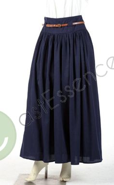 Everyday skirt: Traditional Islamic Clothing for Women, Men & Kids, Buy Modern Muslim Apparel, Designer Kurtis, Fashion Abayas & Jilbabs, Hijab, Skirts, Scarfs & Shawls Online Modest Outfits, Modest Fashion, Skirt Fashion, Hijab Fashion, Cute Outfits, Hijab Collection, Conservative Fashion, Great Hairstyles, Islamic Clothing
