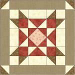 Stars Fell On Alabama Free Quilt Block Pattern