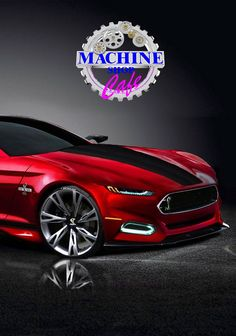 ◆ Visit ~ MACHINE Shop Café ◆ MACHINE Shop Café concepts are celebrated here. Follow Us and our Crowdfunding Campaign... October 2017 by purchasing your 'Gift Card Perks' at... www.indiegogo.com ◆ Conceptual Design Board ◆ (2016 Ford Mustang Concept)