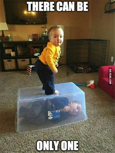 This sums up my relationship with my sibling - 9GAG