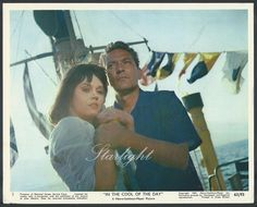 Jane Fonda Peter Finch LOT 3 Original 1963 Color Photos In the Cool of the Day
