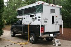 Slide in Pop-Up Campers Pop Up Truck Campers, Pickup Camper, Recreational Vehicles, Trucks, Camping, Popup, Capri, Outdoors, Bike