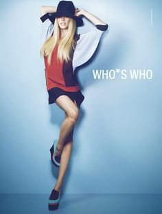 Julie Ordon by Joseph Cardo for Who*s Who 2012-13 Fall/Winter Campaign.