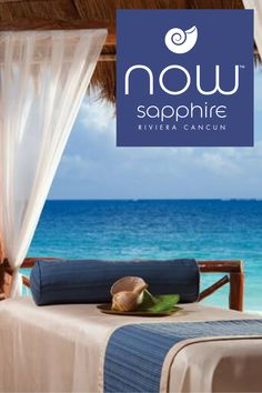 Transcend your body and mind to a new level of relaxation at Now Sapphire Riviera Cancun. Mexico Resorts, Riviera Maya, Cancun, Sapphire, Relax, Luxury