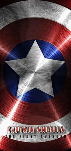 Infográfico del escudo del Capitan America