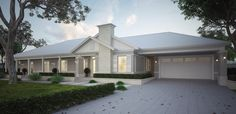 Our journey of building our Hamptons/Modern Country style forever home in Melbourne,Vic Style At Home, Country Style Homes, Modern Country, Country Farmhouse, Exterior Color Schemes, Exterior House Colors, Exterior Design, Colour Schemes, Die Hamptons