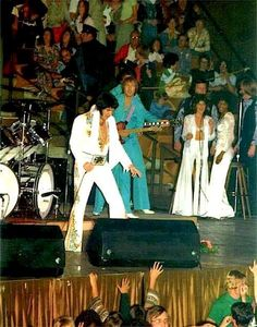 I cannot describe the experience of seeing Elvis live in concert. A memory I will always cherish!!!