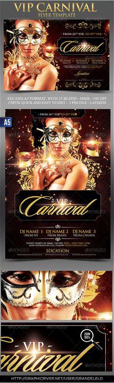 Vip Carnival Flyer Template Download Link: http://graphicriver.net/user/grandelelo?ref=grandelelo