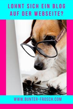 Arbeitest du professionell mit Tieren und möchtest sichtbarer für potenzielle Kunden werden? Dann ist ein Blog vielleicht das richtige für dich. Egal ob du als Tierarzt, Tierheilpraktiker, Tierenergetiker, Trainer, Hundefriseur usw. dein Marketing verbessern möchtest, mit einem Blog kannst du mehr potenzielle Kunden auf deine Website bringen. Aber lohnt sich das für dich? Die Antwort findest du in unserem Blogartikel! #tierarztmarketing #tierbusiness #pferdebusiness #bunterfrosch Trainer, Marketing, Business, Blog, Vet Office, Pet Dogs, Animales, Blogging, Store