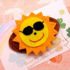 felt sun... try as a pirate instead of glasses