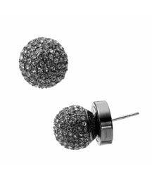 Michael Kors Hematite-Color Fireball Earrings