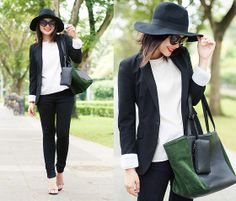 BLACK WHITE FUNDAMENTAL (by Zean Vo) http://lookbook.nu/look/4651655-BLACK-WHITE-FUNDAMENTAL