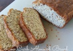 Easy Low Carb Almond Bread