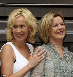 Agnetha & Frida at Mama Mia.