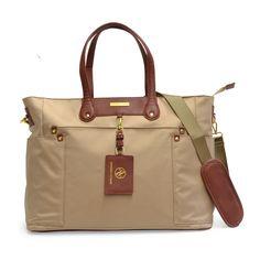 6d0e513c6c0b Adrienne Vittadini Nylon East West 17-inch Laptop Tote Bag Nylon Tote Bags