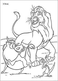 7 Images Géniales De Le Roi Lion Coloring Pages Coloring Books Et
