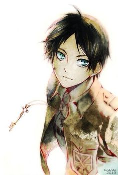 Eren from the awesome manga and anime Attack on Titan!!