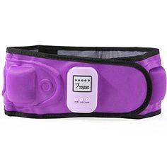 VIKTOR JURGEN Slimming Belt Vibration Massage With Heat Electric Weight Loss Fat Burning Waist Exerciser Belt * Be sure to check out this awesome product.