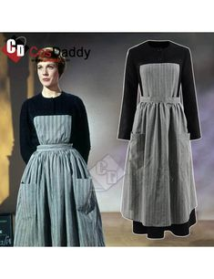 The Sound of Music Maria Maid Nun Cosplay Costume