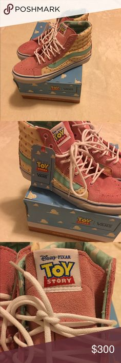 Toy Story Bo Peep Vans Limited edition •brand new •size 7 Vans Shoes Sneakers