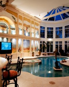 Amazing indoor pool