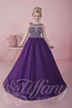 Tiffany Princess Little Girls Pageant Dress Style 13473