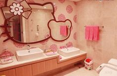 For the HELLO KITTY fans..here's a hotel just for you!