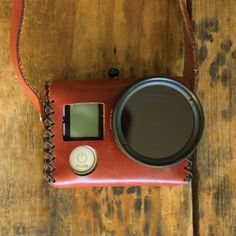 The Travler - A Vintage Inspired, Hand Stitched, Leather Case designed to fit GoPro®