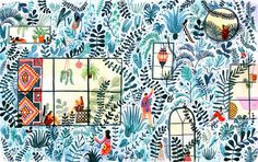 The World of Illustration: Monica Ramos / Oh So Beautiful Paper