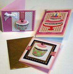 Small greeting cards - små kort Moski