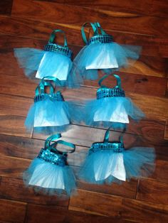 The perfect party favor for Frozen birthdays!!  Disney Frozen Tutu Purses  Frozen Party by AylasBeeniesgreenbay, $7.00