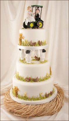 Cute Country Wedding Cakes