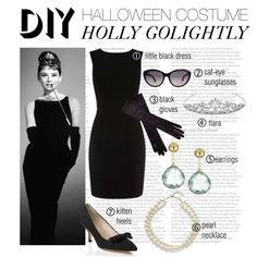 DIY Halloween Costume - Holly Golightly Breakfast at Tiffany's CLASSIC Audrey Hepburn