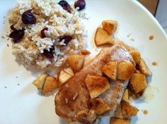 Pork Chops and Apples from Once A Month Mom | OAMC from Once A Month Mom