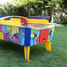 Wik Skate ivelt léghoki asztal Wii, Toy Chest, Storage Chest, Skate, Toys, Furniture, Home Decor, Activity Toys, Decoration Home