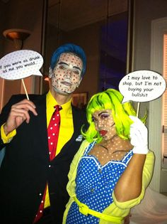 Jetsetting ain't easy, Part 1 Paris: pop art costumes for halloween in paris