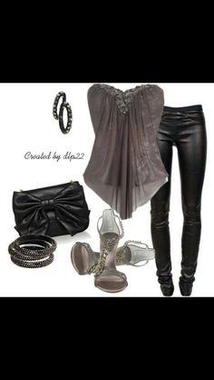 Night out attire