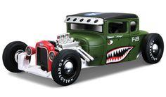 Pick-Up-Modell-1-24-1929-Ford-Model-A-gruen-von-Maisto
