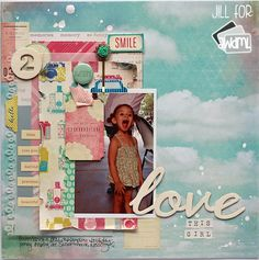 american crafts dear lizzy layouts - Google Search