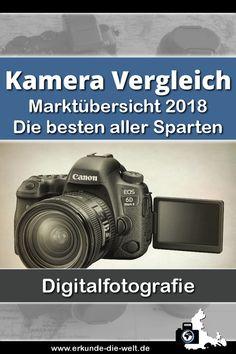 Der große Kamera Vergleich - Marktübersicht 2018. Die besten Digitalkameras aller Sparten mit Entscheidungshilfen zum Kauf.