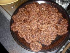 kaura- suklaa keksit