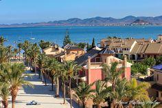Vista de la urbanización de los Narejos en Los Alcazares, Murcia, España