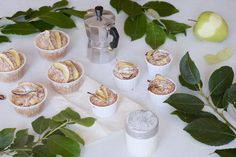 Jablkové muffiny s marcipánem