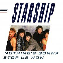 45cat - Starship - Nothing's Gonna Stop Us Now / Layin' It On The Line - Grunt - UK - FB 49757