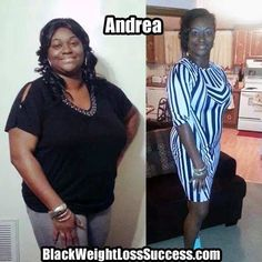 Andrea lost 68 pounds in 7 months.
