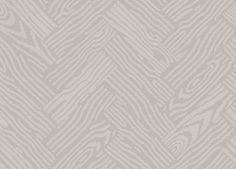 Parquet (BP 4101) - Farrow & Ball Wallpapers - A contemporary take on the traditional Herringbone parquet flooring, this pattern includes the grainy look of the more traditional design. Available in tonal and dramatic three colour prints. Shown here in taupe and cream. Other colourways are available. Please request a sample for a true colour match. Pattern repeat is 50.5cm, not as stated below.
