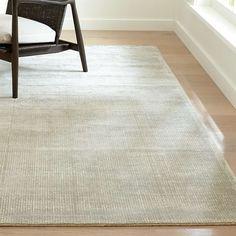 Vaughn Modern Grey Rug 8'x10' + Reviews   Crate and Barrel Beige Carpet, Diy Carpet, Patterned Carpet, Modern Carpet, Rugs On Carpet, Carpet Ideas, Stair Carpet, Hotel Carpet, Carpet Trends