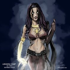 LeeAnna Vamp as Tyria. severedsoulsbook.com