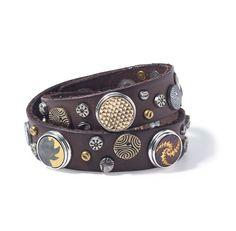 Noosa Pure double studded bracelet